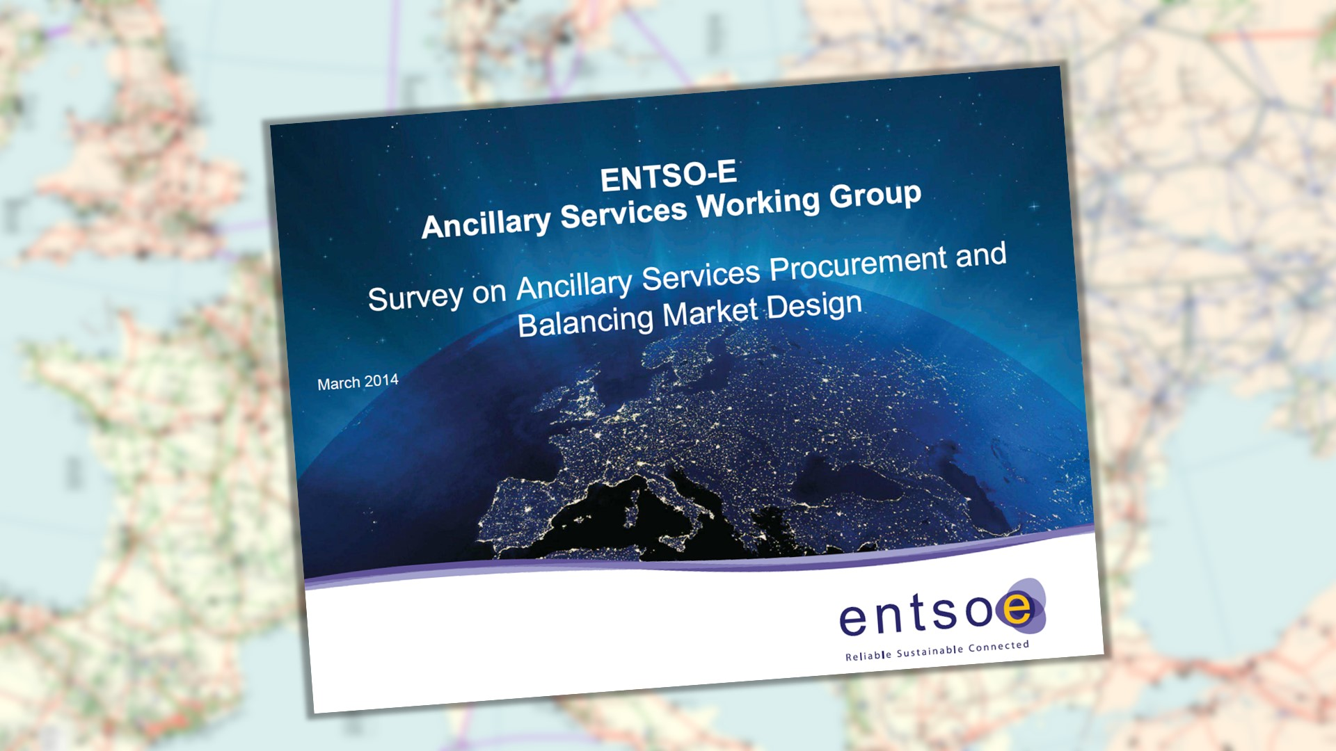 ENTSO-E Survey at disposal