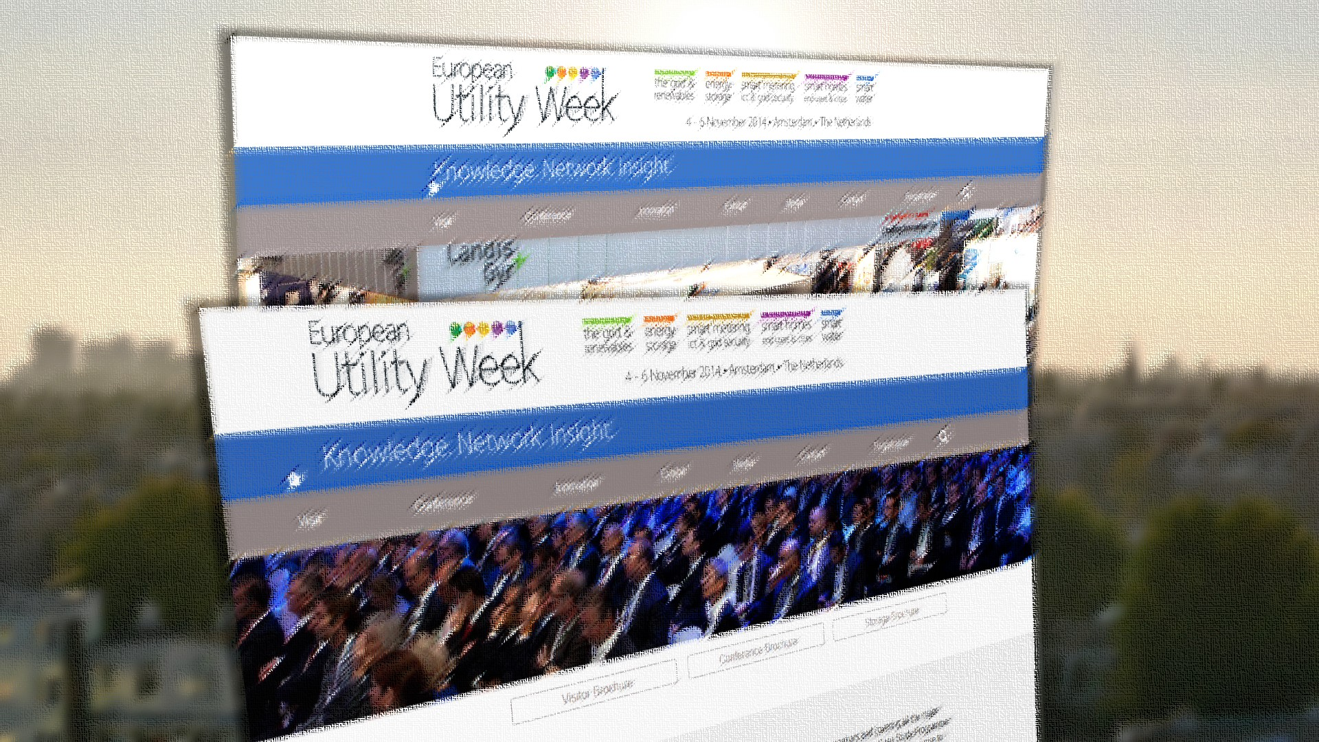 Utility Week in Amsterdam