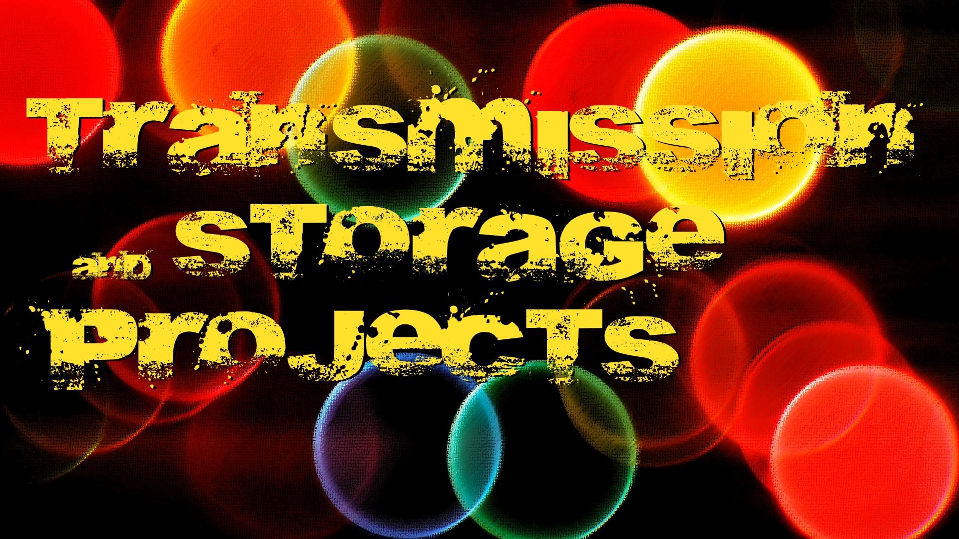 Workshop on transmission and storage