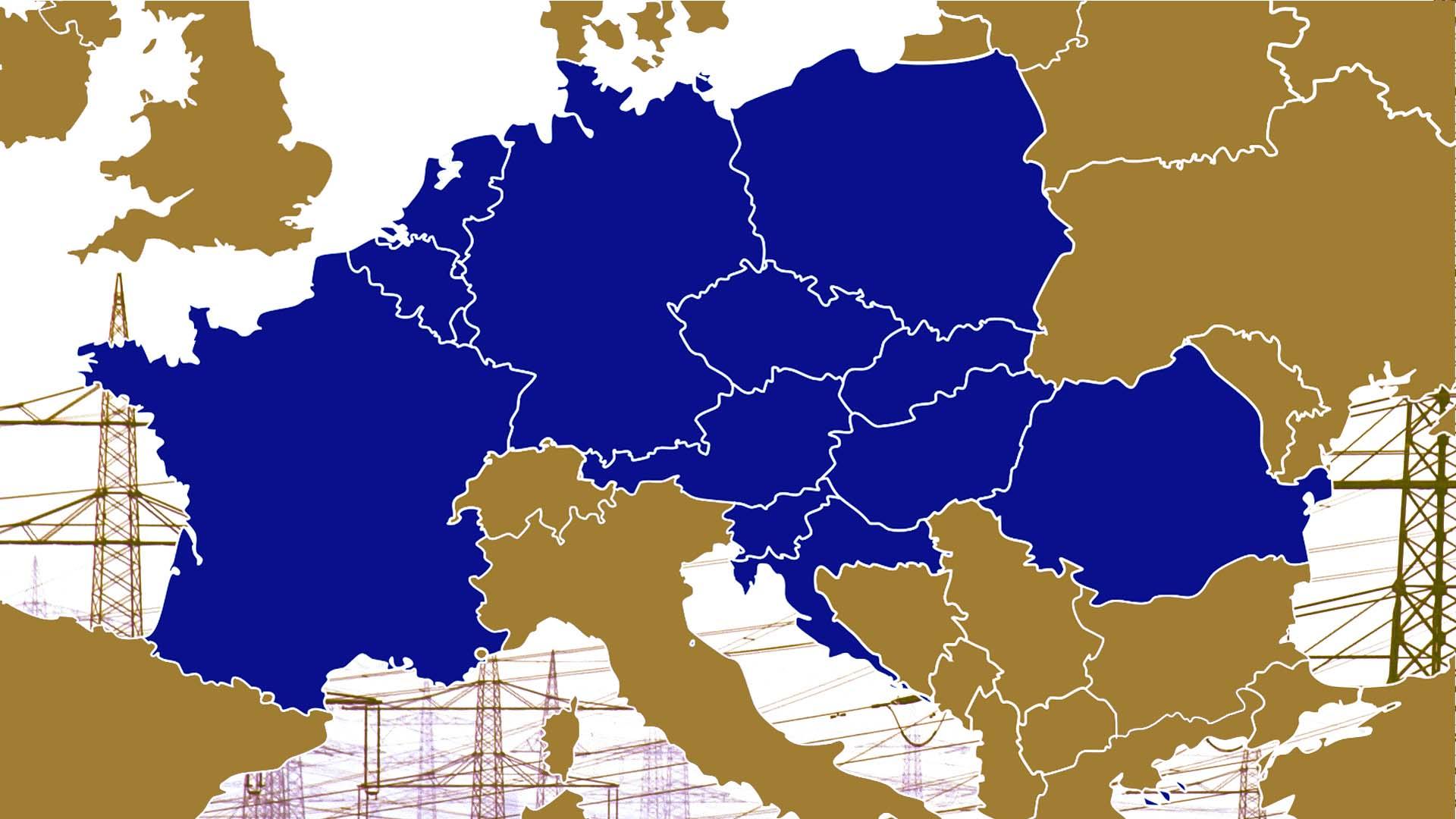 European core capacity calculation region (CCR)