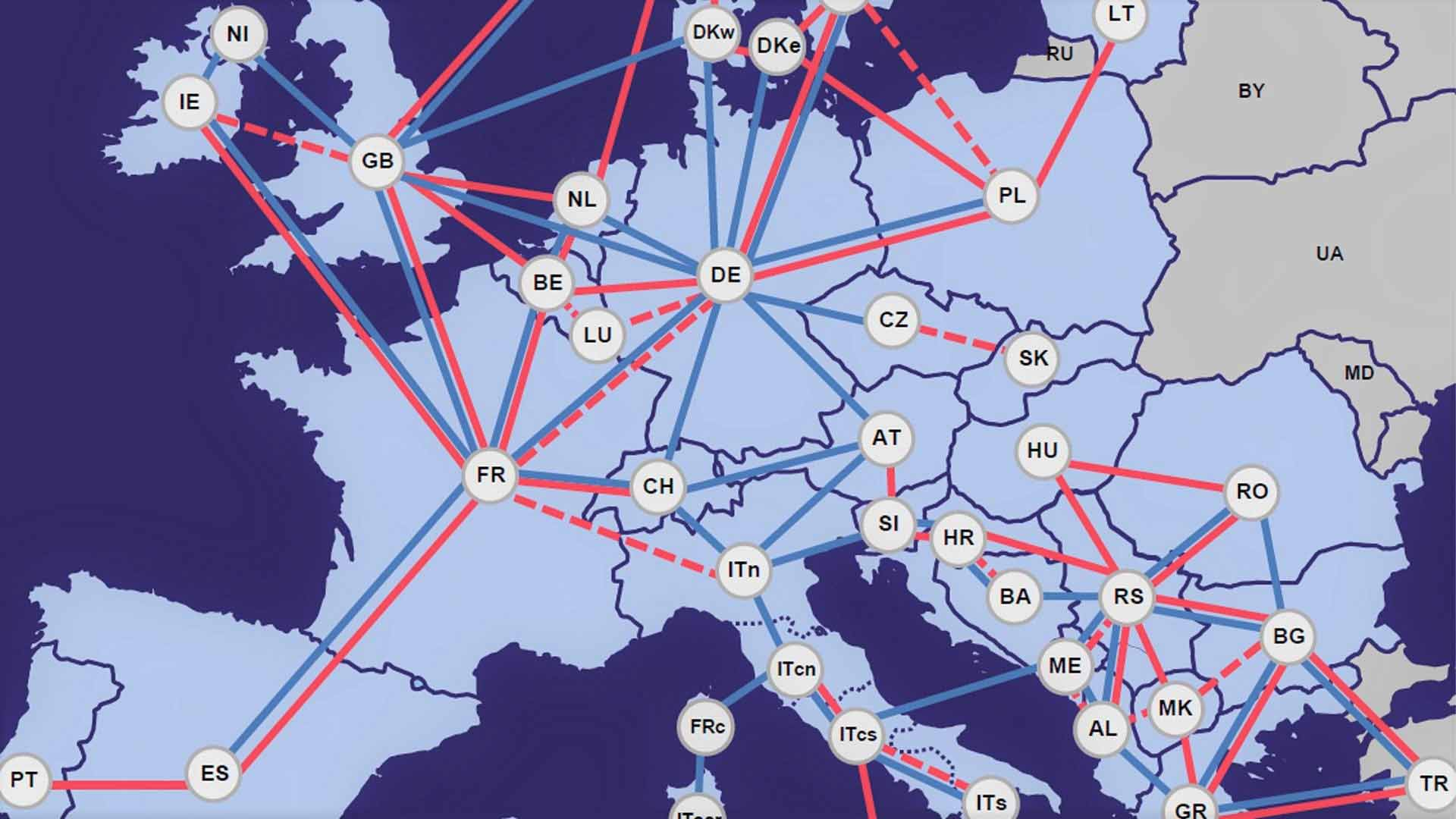 Europe archives tscnet services europe power system 2040 sciox Images