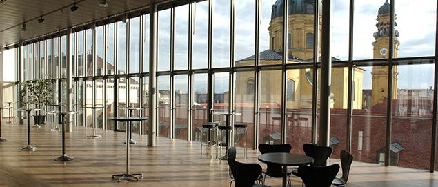 Literaturhaus München, Foyer
