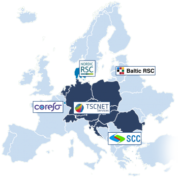 RSCs in Europe, map, 2020