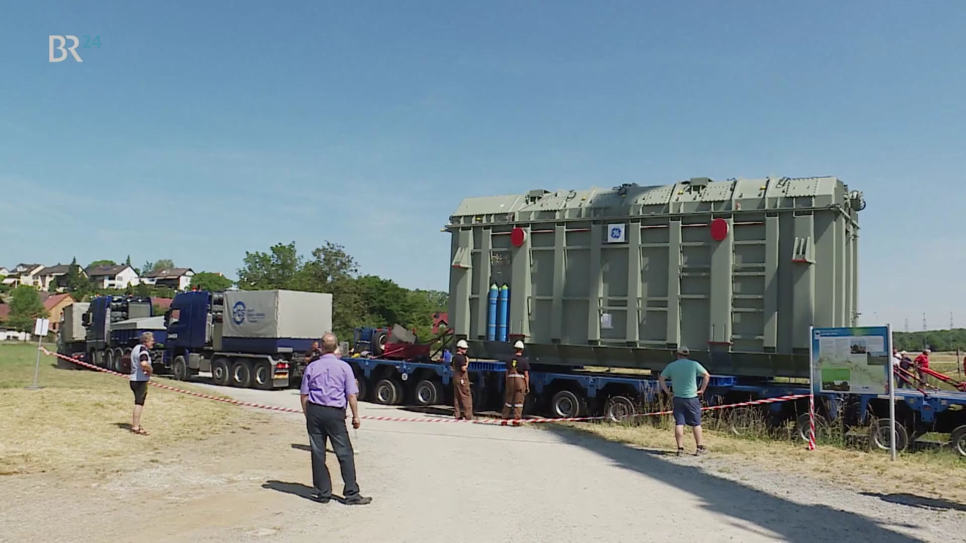 TenneT transformers ensure supply in northern Bavaria