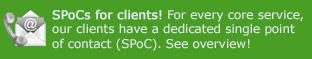 SPoCs for TSCNET clients