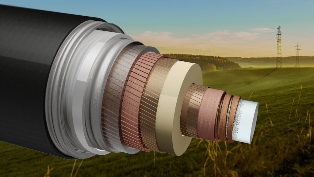 Superconducting cables for the extra-high voltage range - TSCNET