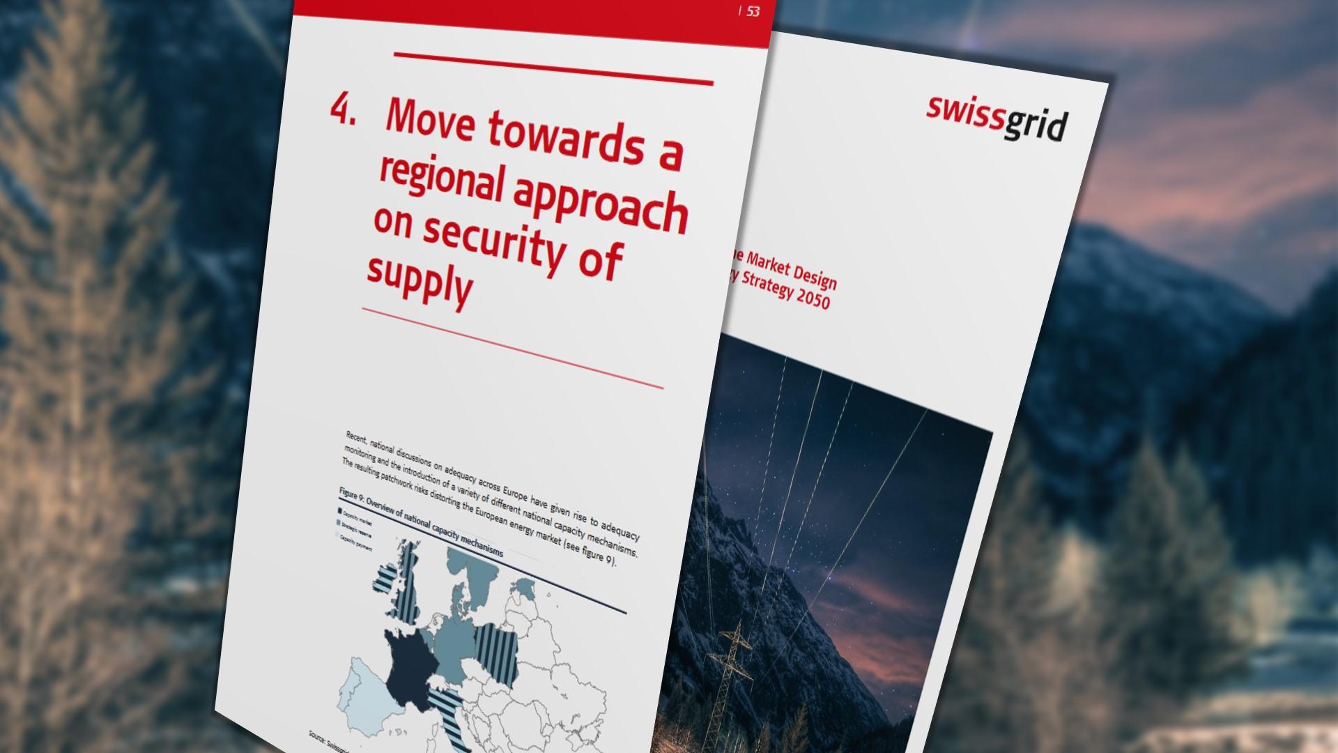 Swissgrid proposals taken into debate